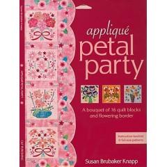 Carpeta Appliqué Petal Party