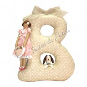 Pattern Mathilda Letter B Girl