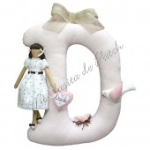 Pattern Mathilda Letter D Girl