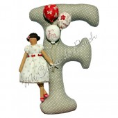 Pattern Mathilda Letter F Girl
