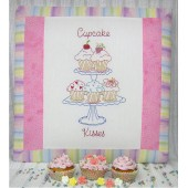 Stitchery Cupcake Kisses