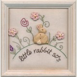 Stitchery Little Rabbit Sits