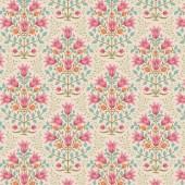 Tela Breeze Floral Rosa