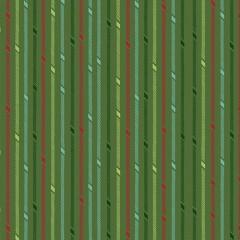 Tela Verde Rayas Caramelo