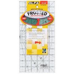 """Regla Frosted Olfa 6"""" x 12"""""""