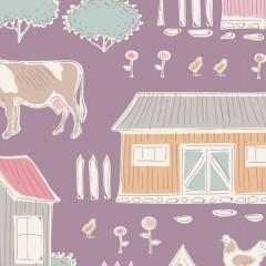 Tela Malva Tiny Farm