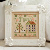 March Cottage Cross Stitch