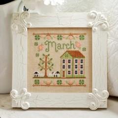 Punto de Cruz March Cottage