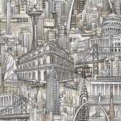 Tela Paisajes Urbanos