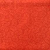 Tela Naranja Paisley