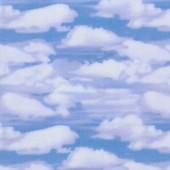 Tela Azul Cielo y Nubes
