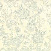 Tela Natural Toile Paisley