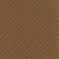 Tela Verde Rayas Rojas