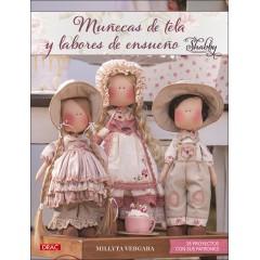 Libro Muñecas de Tela y Labores de Ensueño