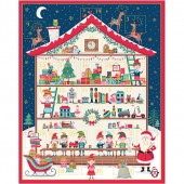 Panel Calendario Adviento Taller Santa