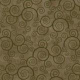 Tela Verde Musgo Espirales