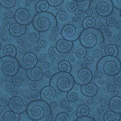 Tela Teal Espirales