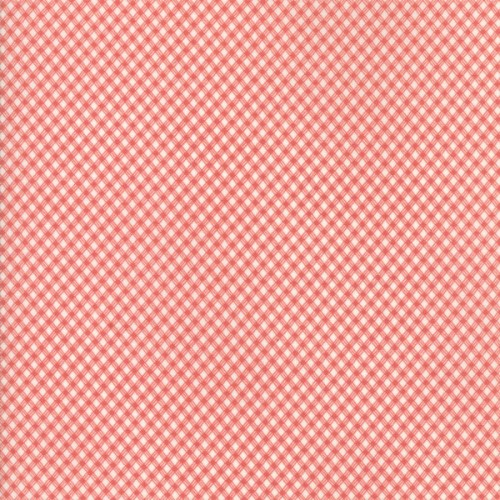 tela marfil cuadros rojo mi casita de patch tienda de