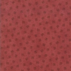 Tela Burdeos Flores