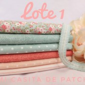 Lote 1 Fat Quarters Sanctuary
