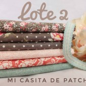 Lote 2 Fat Quarters Sanctuary