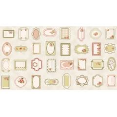 Panel Rosie's Garden Etiquetas