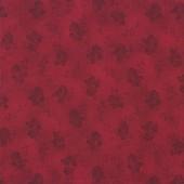 Tela Roja Oscura Rosas