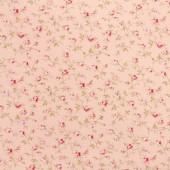Tela Japonesa Rosa Flores
