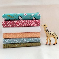 Lote Fat Quarters Animal Crackers