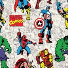 Tela Superhéroes Marvel