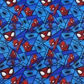 Tela Azul Spiderman