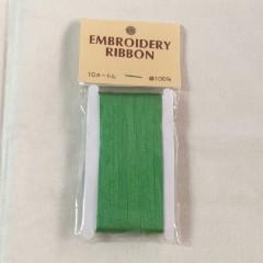 Cinta de Seda Verde Esmeralda