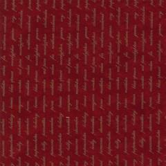 Tela Roja Escritura
