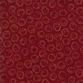 Tela Roja Círculos