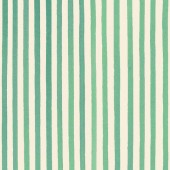 Green Stripes Fabric