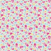 Tela Flores de Colores