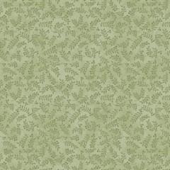 Tela Verde Claro Tonos Ramitas