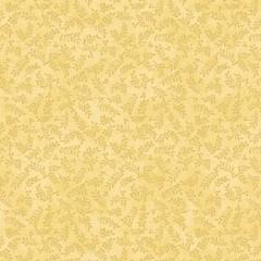 Tela Amarilla Tonos Ramitas