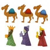 Three Kings Buttons
