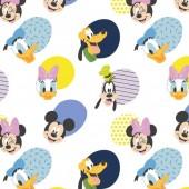 Tela Blanca Mickey Mouse