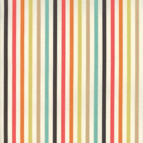 Tela Rayas Multicolores Mi Casita De Patch Tienda De Patchwork En
