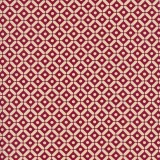 Lino Rojo Azulejos Crema
