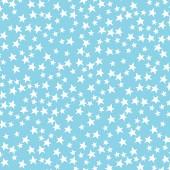 Tela Azul Cielo Estrellas Brillantes