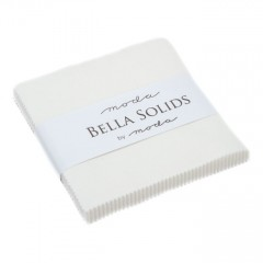 Charm Pack Bella Solids Blanco Roto