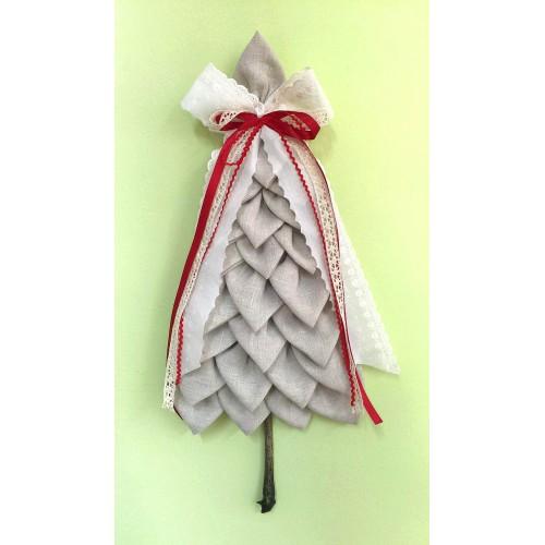 Kit arbol de navidad lino mi casita de patch tienda de - Arboles de navidad de tela ...