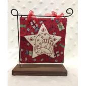 Kit Colgante Estrella con Santa