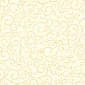 Scrolls Cream Fabric