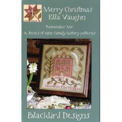 Punto de Cruz Merry Christmas Eva Vaughn