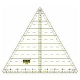 Regla Patchwork Triángular 90 Grados