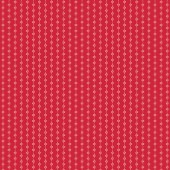 Stitches Red Fabric